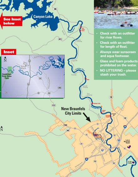 Guadalupe River Official Tourism Site