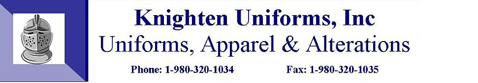 knighten uniforms  inc home page