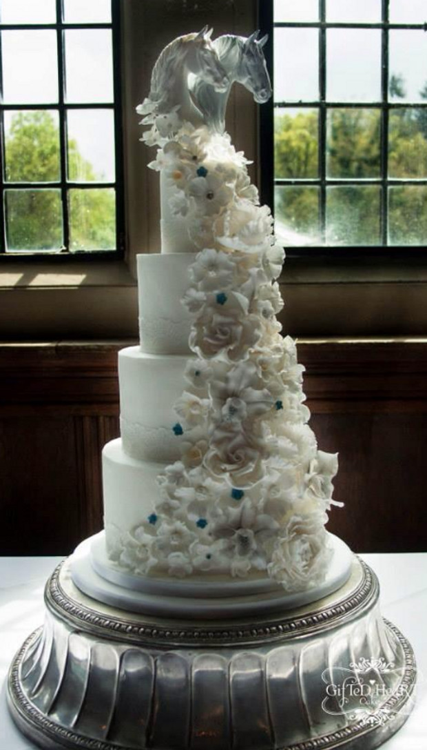 Horse Cake Toppers For Wedding Cakes