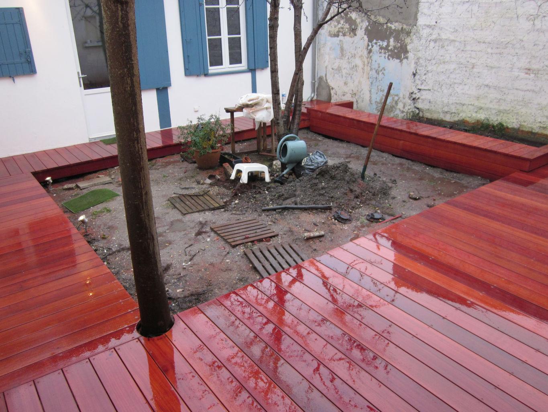 terrasse bois mukulungu. Black Bedroom Furniture Sets. Home Design Ideas