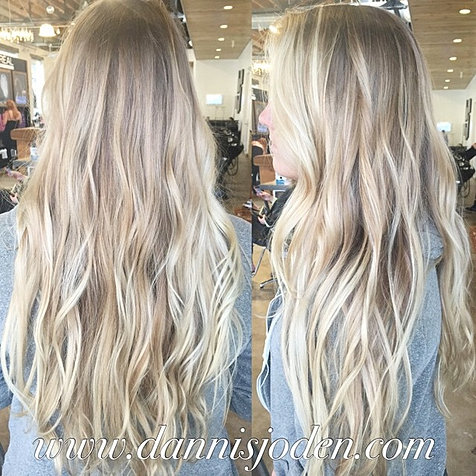 Bright beachy blonde on this mermaid! I use her natural color as the ...
