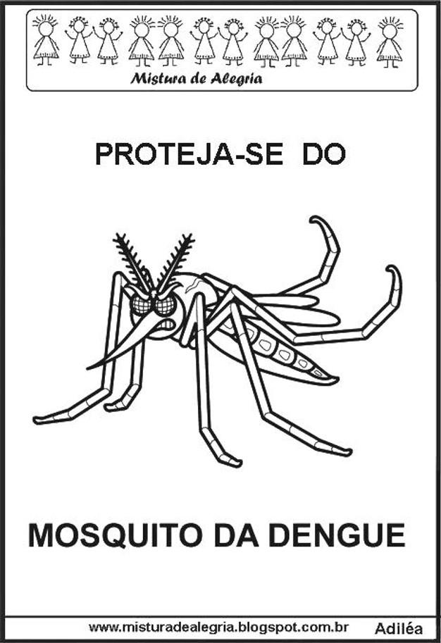Conhecido Atividades Pedagógicas - Zika, Dengue e Chikungunya | Educa Blog  BQ38