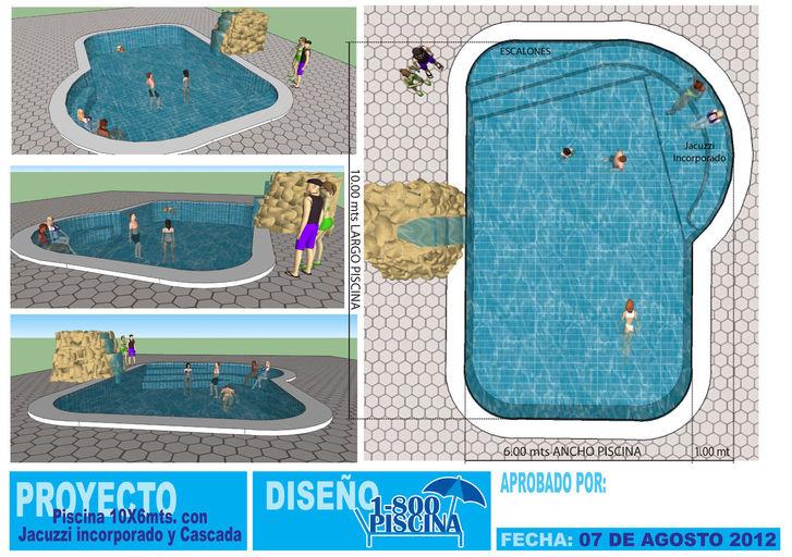 1 800piscina 747246 construcci n de piscinas en ecuador for Planos de piscinas con jacuzzi