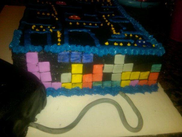 Divine Delight Custom Cake Creations Wixcom - Tetris birthday cake