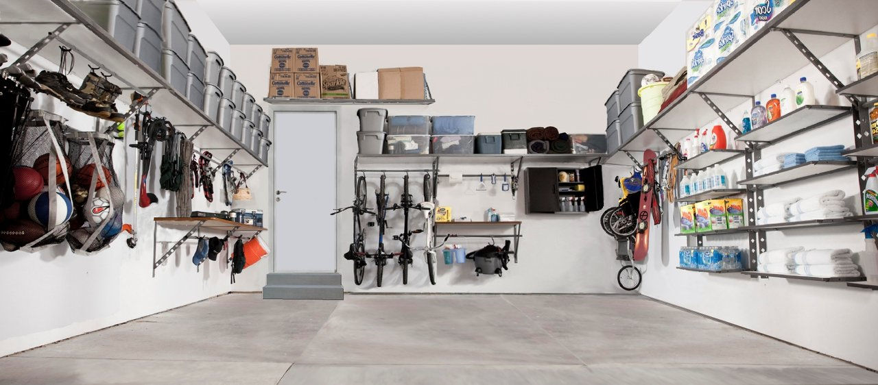 Monkey Bar Garage Storage