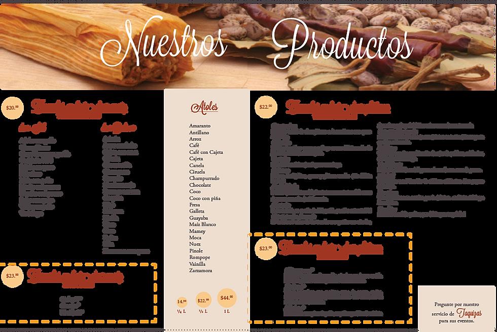 Los tamalitos de balbuena menu for Casas en la jardin balbuena