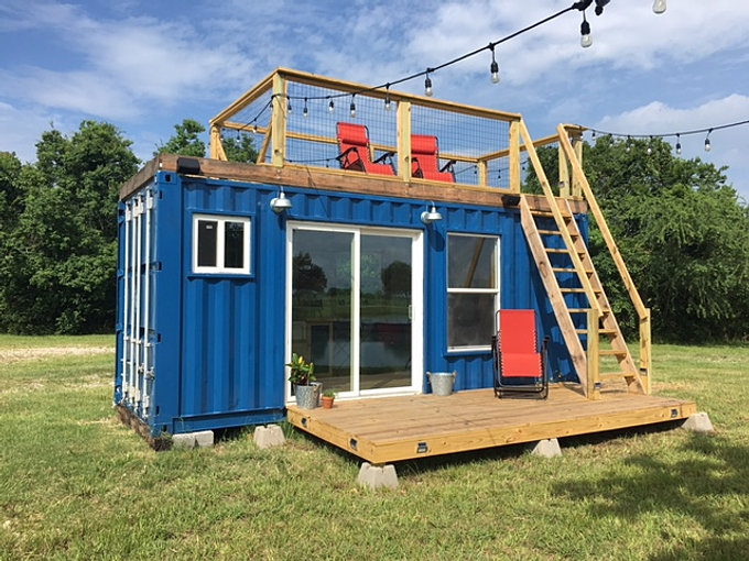Backcountry containers shipping container tiny homes - Benefits of shipping container homes ...