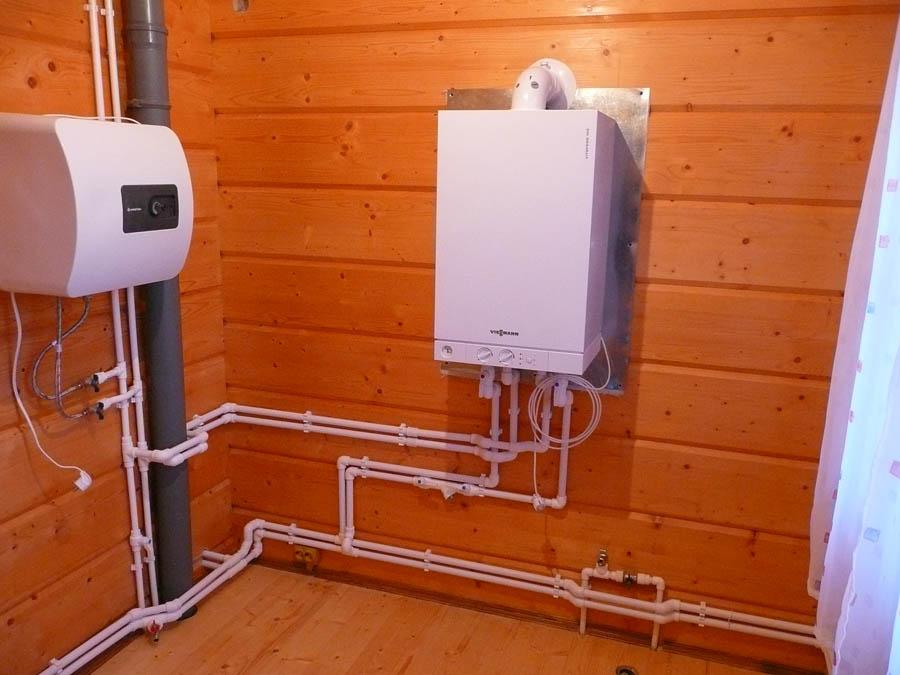 Газовые водонагреватели установка своими руками
