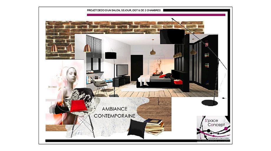 D coration int rieure space concept bar cr perie vend e - Concept alu les herbiers ...