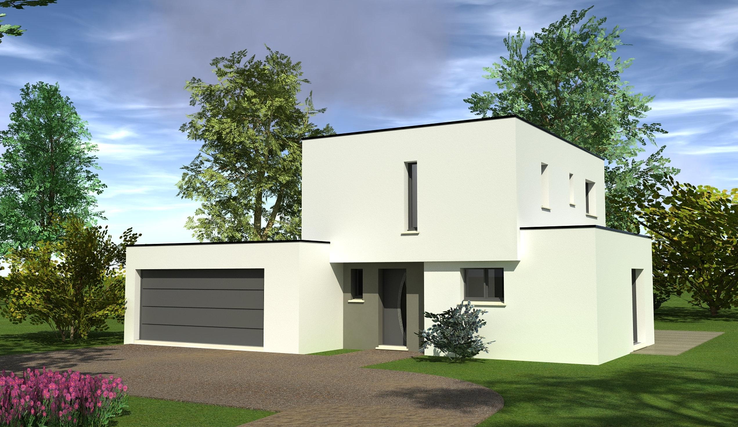Turbo Modle Maison. Elegant Amazing Suprieur Plan De Maison Plain Pied  VR05