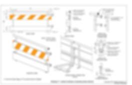 Pedrail Pedestrian Longitudinal Channelizing Device