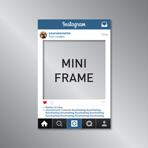 Social Media Frame Props | RSPD.ie
