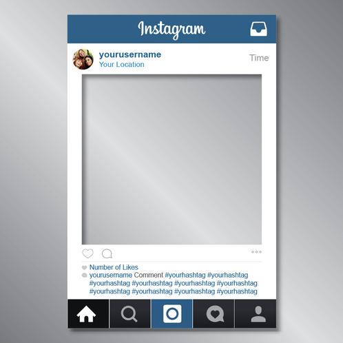 instagram frame cut ou