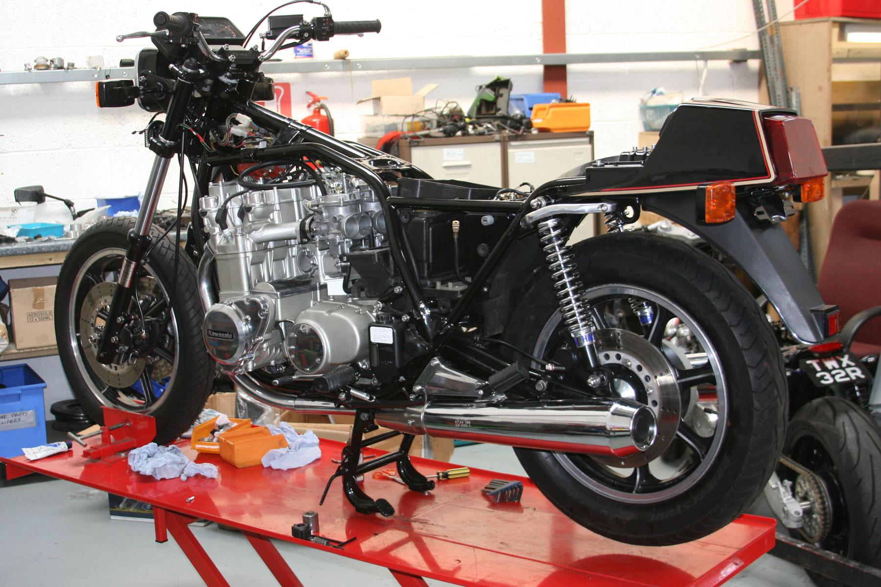 Zed Parts Z1300 Specialist Kawasaki Bromsgrove Ultrasonic Cleaning 1980 Kz1300 Wiring Harness Bike 004