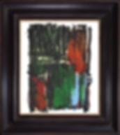 Bernard DUVERT - Sans Titre - Pastel gras sur papier - SBD - 65 x 50 cm - 2015 - 2015248