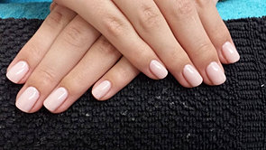 What is gel overlay on natural nails