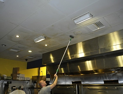 Did You Know Your Ceilings and Walls Can Be Cleaned? - Commercial Ceiling Cleaning CEILING CLEANING