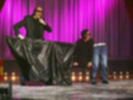 Tryllekunstner Håvard Sand i aksjon under Norske Talenter