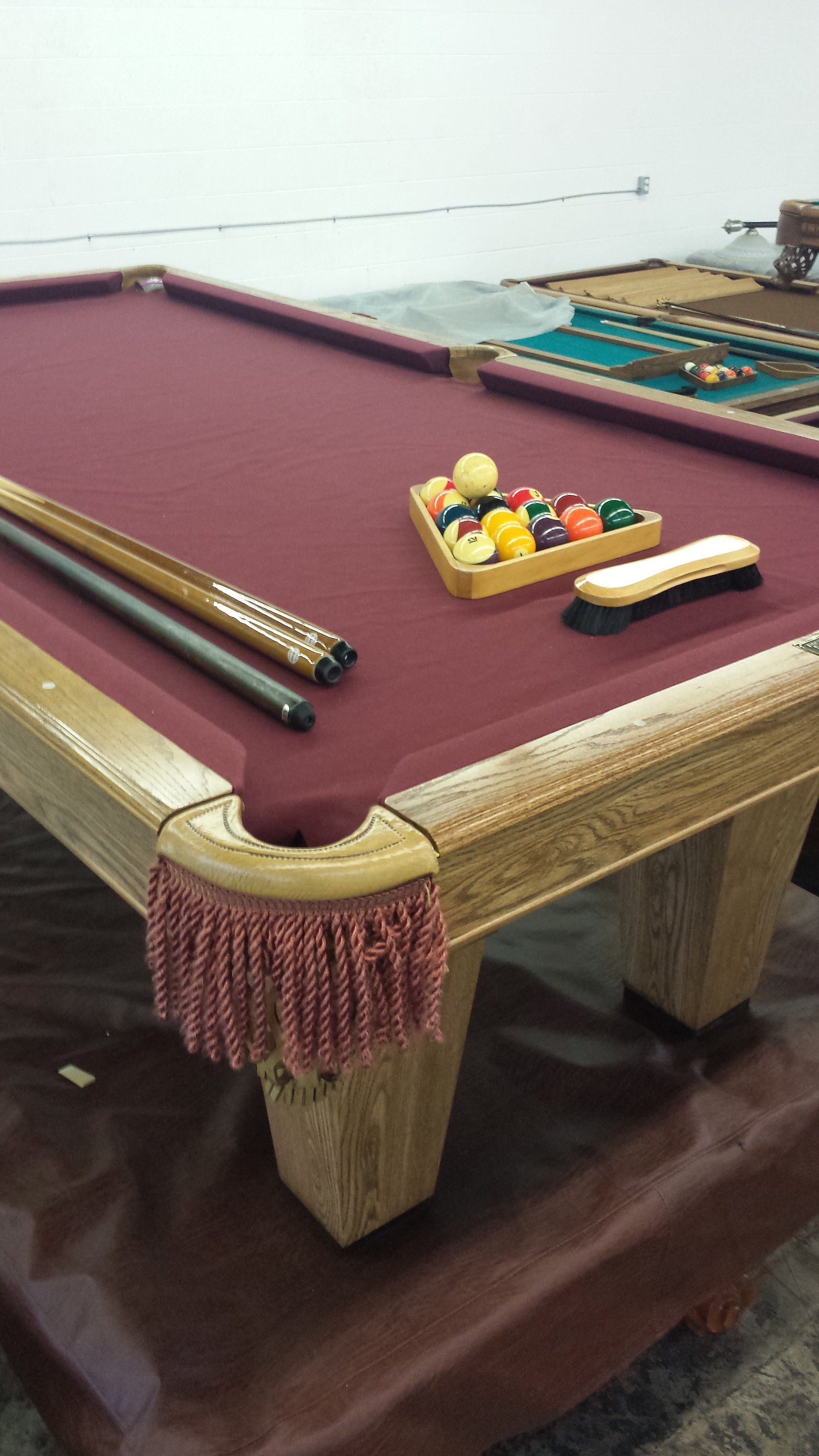 Tomstables Pool Tables 7ft Brunswick Pool Table