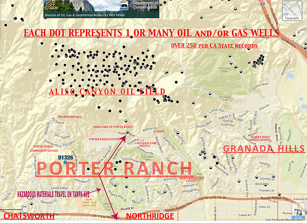 oil gas drilling map shut aliso canyon down