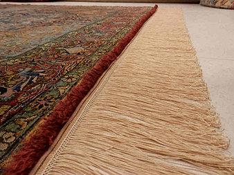 Restauraci n de alfombras reparaci n de alfombras madrid - Limpieza de alfombras de lana ...