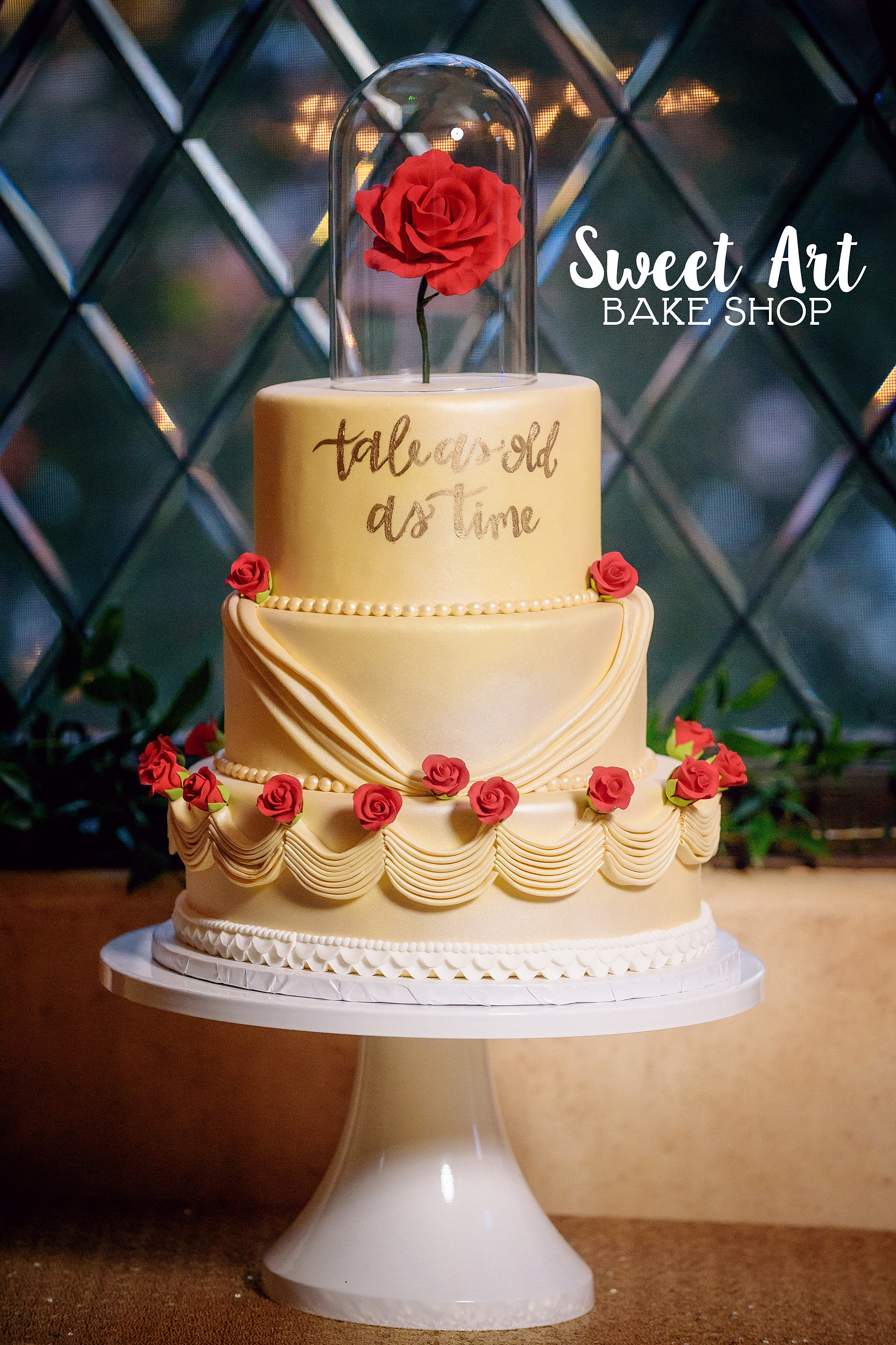 beauty and the beast wedding cake | My Web Value
