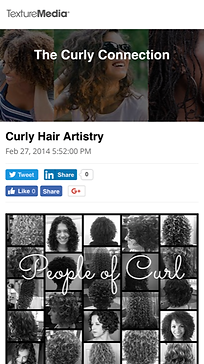 Texture media interviews Dianne Nola in Curly Hair Artistry