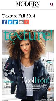 Dianne Nola creates cocktail for Curly Hair problem in Modern Salon Magazine