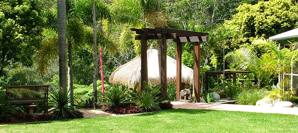 Sunshine coast landscape design and construction for Landscape design sunshine coast