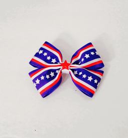 Patriotic Stars and Stripes Double Hair Bow.png