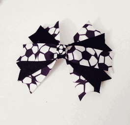 Soccer Inspired Hair Bow.png