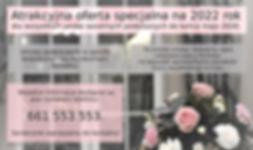 oferta specjalna wesela 2022 strona www.