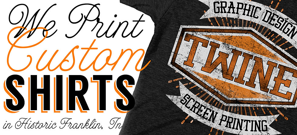 Custom printed t shirts in franklin tn