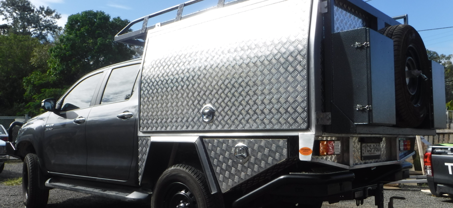 Chassis Mount Canopy Toyota Hilux