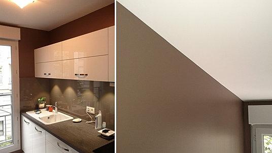 vert nuance entreprise peinture lyon r novation d g t des eaux travaux de peinture cuisine. Black Bedroom Furniture Sets. Home Design Ideas