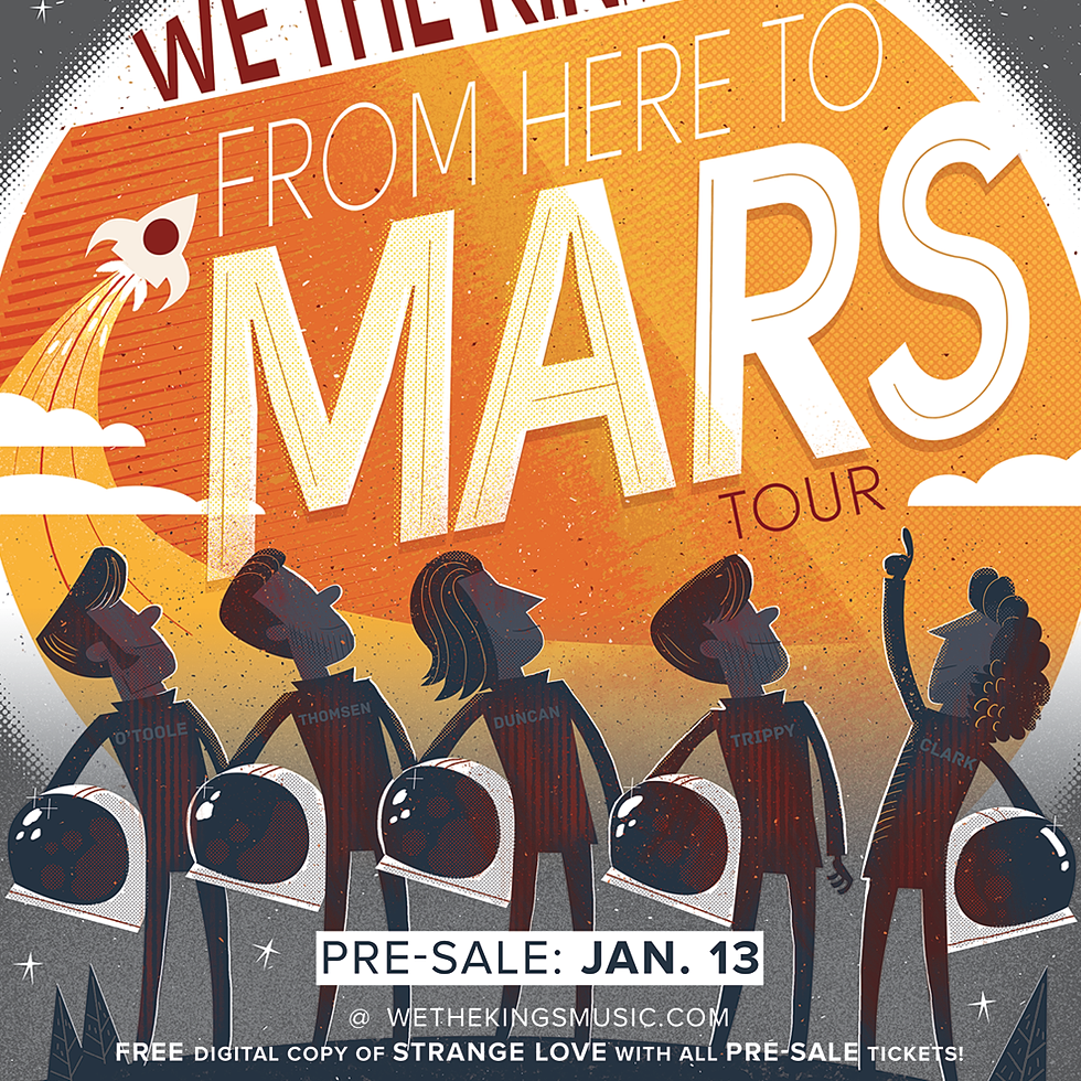We The Kings Tour Tickets