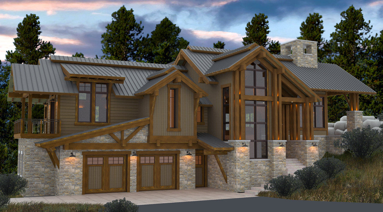 Stuart Arc Steamboat Springs Architect Colorado Home