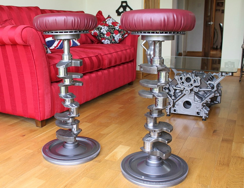 Marcs Bespoke Engine Parts V8 Engine Coffee Tables And
