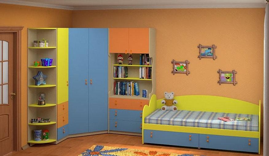 Комната шкаф детская