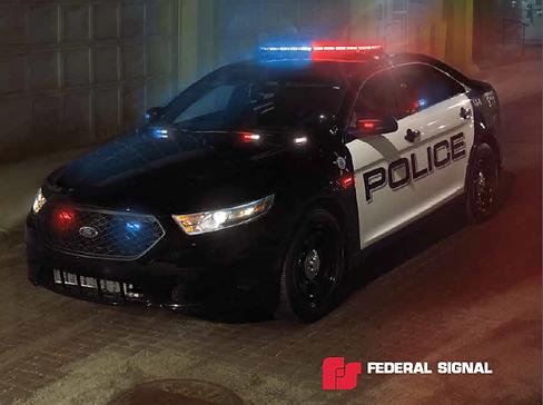 Federal signal integrity lightbar aloadofball Image collections