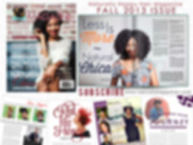 Natural Hair Magazine featuring Natural Chica