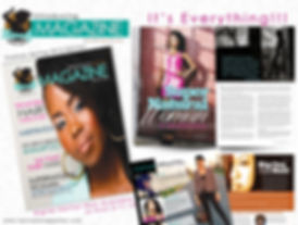 Natural Hair Magazine featuring Nina Ellis-Hervey