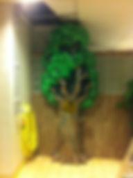 Ismaskin föreställande ett träd
