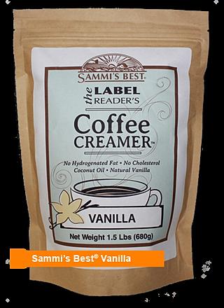 Healthy Coffee Creamer Vanilla