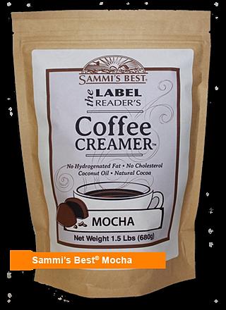 Healthy Coffee Creamer Mocha