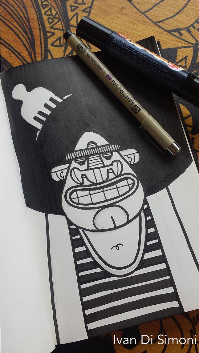 TIM sketchbook - illustration, drawing - ivandisimoni | ello