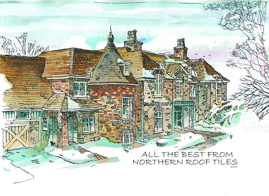 Christmas Cards From Northern Roof Tiles