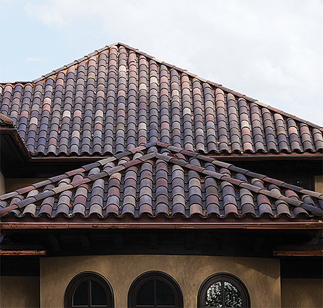 Northern roof tiles for Spanish style roof tiles