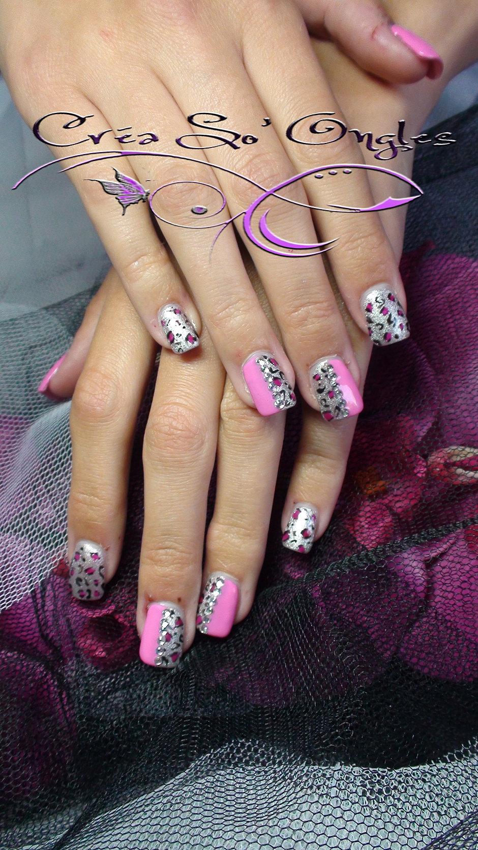 Poses d 39 ongles en gel uv mains et pieds domicile - Modele dessin ongle gratuit ...