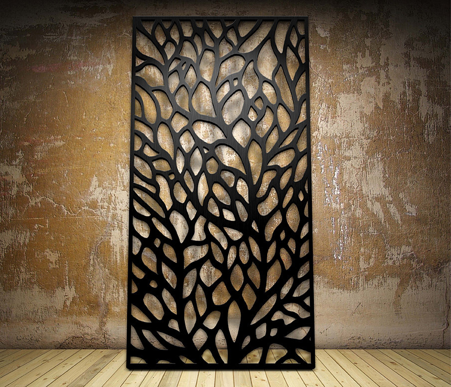 Miles and Lincoln Laser cut screens laser cut panels